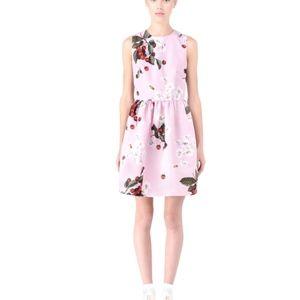 RED Valentino Pink Cherries and Daisies Dress
